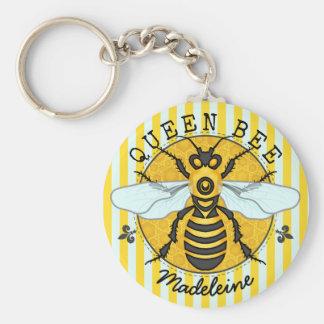 Chaveiro Mel   da abelha de rainha do zangão da abelha
