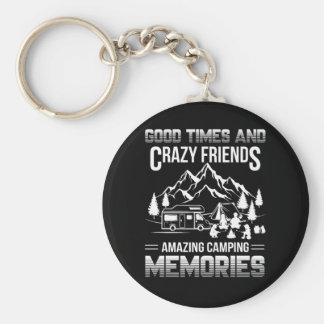 Chaveiro Memórias de acampamento do bom amigo louco das