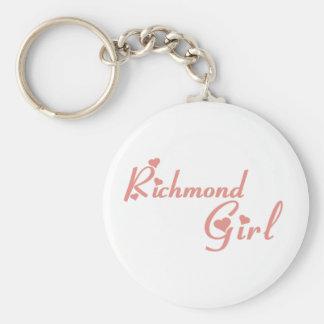 Chaveiro Menina do monte de Richmond