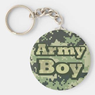 Chaveiro Menino do exército