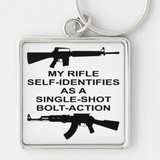 Chaveiro Meu auto do rifle identifica como um ato do