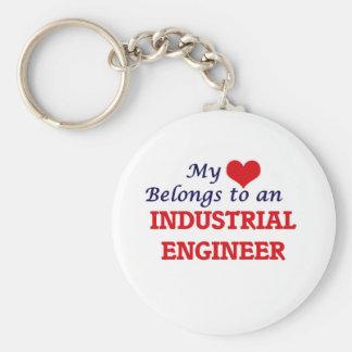Chaveiro Meu coração pertence a um engenheiro industrial