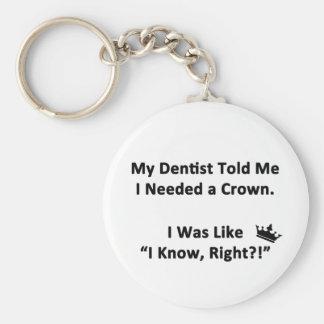 Chaveiro Meu dentista disse-me