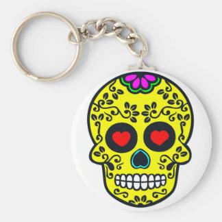 chaveiro mexicano do crânio
