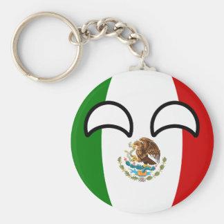 Chaveiro México Geeky de tensão engraçado Countryball