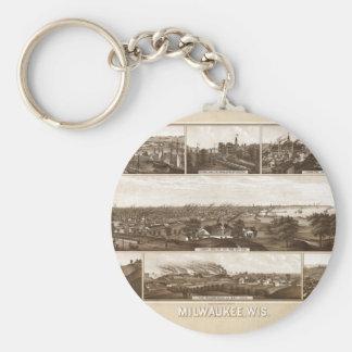 Chaveiro Milwaukee 1882