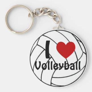 Chaveiro Mim voleibol do coração