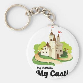Chaveiro minha casa meu castelo