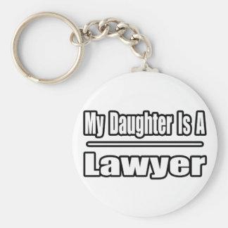 Chaveiro Minha filha é um advogado