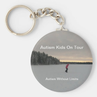 Chaveiro Miúdos do autismo no Chave-anel da excursão