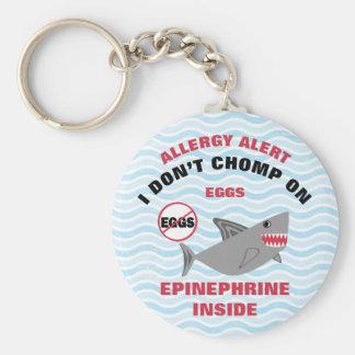 Chaveiro Miúdos personalizados da epinefrina da alergia do
