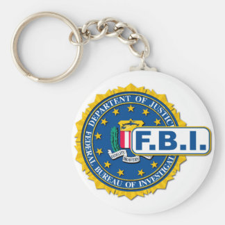 Chaveiro Modelo do selo do FBI
