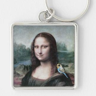 Chaveiro Mona Lisa & Budgies