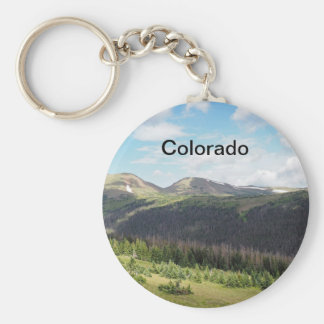 Chaveiro montanhas rochosas em Colorado