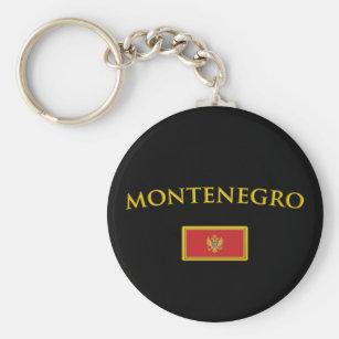 Chaveiro Montenegro dourado