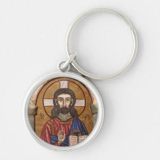 Chaveiro Mosaico antigo de Jesus