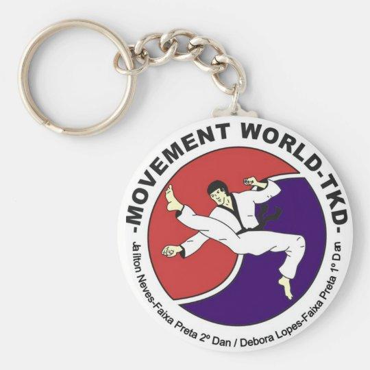 Chaveiro Movement World Taekwondo