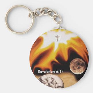 Chaveiro Mudança chave cristã do 6:14 da revelação