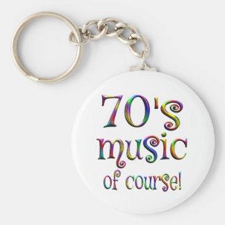 Chaveiro música 70s naturalmente
