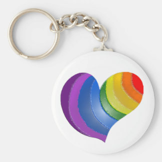 Chaveiro MyPride365 - Corrente chave do coração do