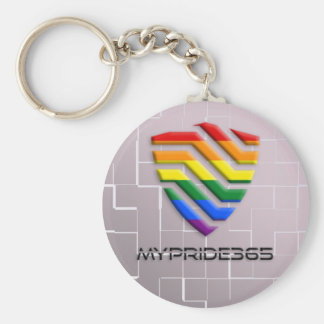 Chaveiro MyPride365 - Corrente chave do logotipo