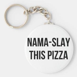 Chaveiro Nama-Massacre a pizza