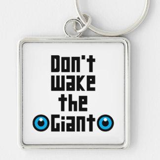 Chaveiro Não acorde o gigante