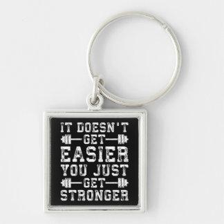 Chaveiro Não obtem mais fácil, você apenas obtem mais forte