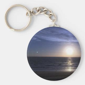 Chaveiro Nascer do sol da praia de Ormond