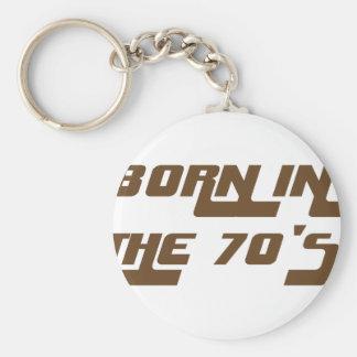 Chaveiro Nascer nos anos 70