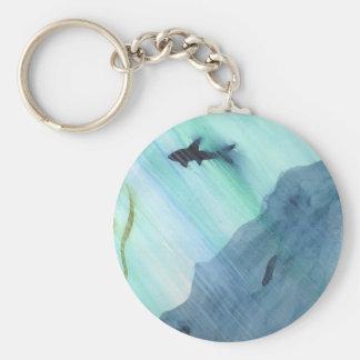 Chaveiro Natação do tubarão