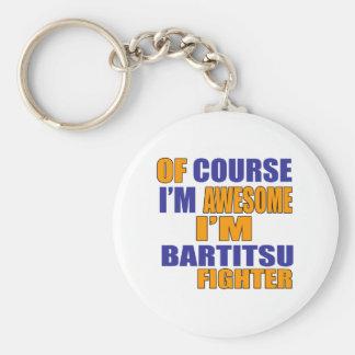 Chaveiro Naturalmente eu sou lutador de Bartitsu