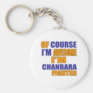 Chaveiro Naturalmente eu sou lutador de Chanbara