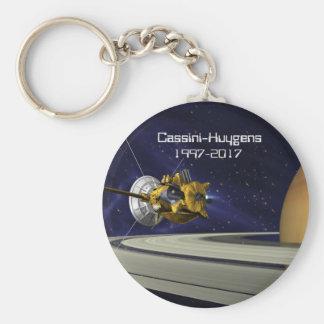 Chaveiro Nave espacial da missão de Cassini Huygens Saturn