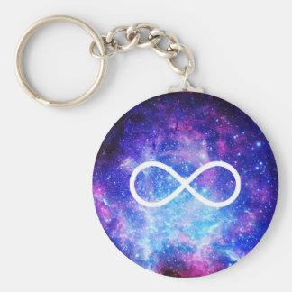 Chaveiro Nebulosa do símbolo da infinidade