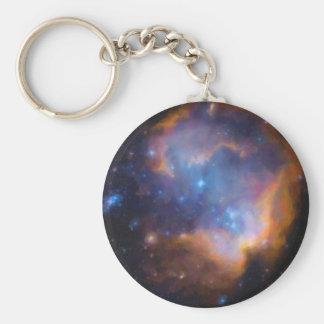 Chaveiro nebulosa galáctica abstrata nenhuns 2