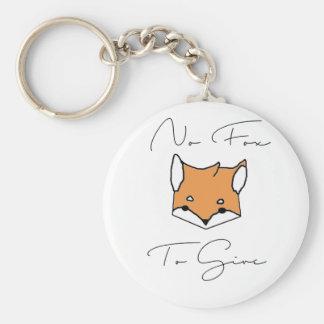 Chaveiro Nenhum Fox a dar