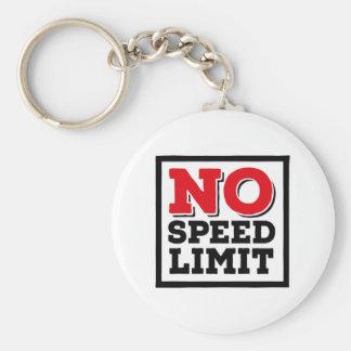 Chaveiro Nenhum limite de velocidade