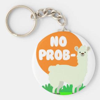 Chaveiro Nenhum Prob-Lama - nenhum lama do problema -