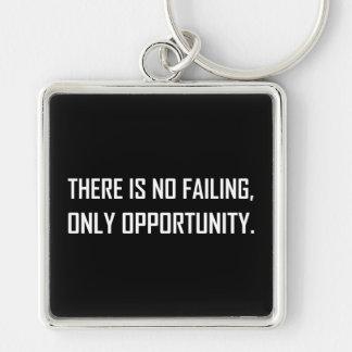 Chaveiro Nenhuma divisa da oportunidade do Failing somente