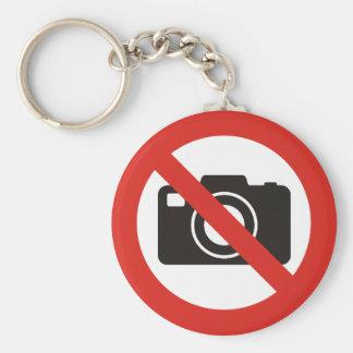 Chaveiro Nenhumas fotos permitidas