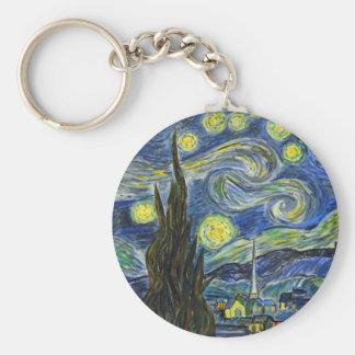 Chaveiro Noite estrelado, Van Gogh
