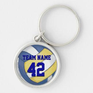 Chaveiro Nome e número da equipe do voleibol