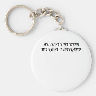 Chaveiro Nós amamos o rei Nós Amor Tailândia