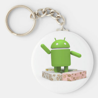 Chaveiro Nougat do Android