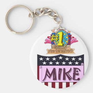 Chaveiro Número um Mike