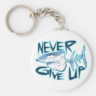 Chaveiro nunca dê acima o grande tubarão branco