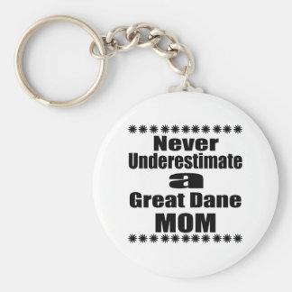 Chaveiro Nunca subestime a mamã de great dane
