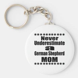Chaveiro Nunca subestime a mamã do german shepherd