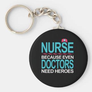 Chaveiro Nutra porque os doutores precisam heróis